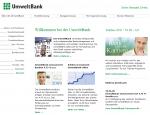 Umweltbank Screenshot