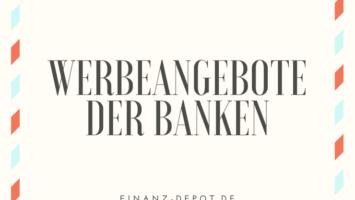 Werbeangebote der Banken
