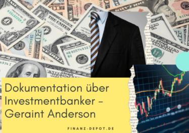 Dokumentation über Investmentbanker - Geraint Anderson