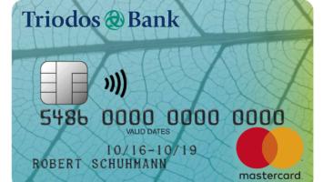 Triodos Bank Kreditkarte Nachhaltig und ethisch korrekt