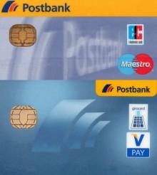 VPAY anstatt Maestro bei der Postbank