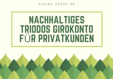 Nachhaltiges Triodos Girokonto