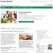 Triodos Girokonto Screenshot