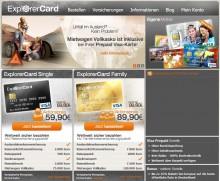 ExplorerCard Prepaid-Visakarte