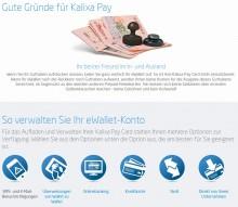 Kalixa-Prepaid-Kreditkarte-Vorteile