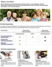 Miles&More Kreditkarten-Versicherungen