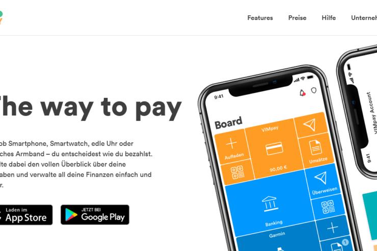 VIMpay Virtuelle Kreditkarte