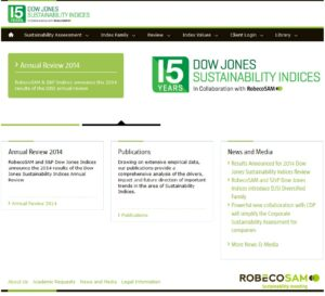 Dow Jones Sustainability World Indexes