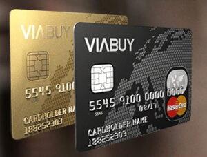 Hochgepraegte Prepaid-Kreditkarten